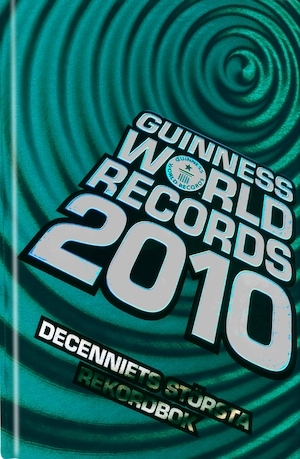 Guinness world records: 2010